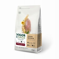 "Vigor & Sage Regular Adult ""Ginseng Well-Being"" 2kg"