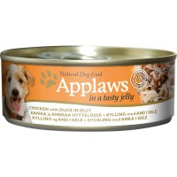 Applaws Natural Dog Food Hühnchenbrust mit Ente in Gelee 156g